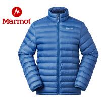 Marmot/土拨鼠秋冬款保暖防泼水防风超薄便携户外男棉服