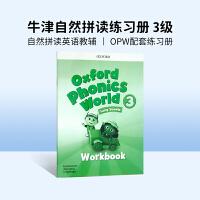 进口英文原版 Oxford Phonics World 3 牛津自然拼读教材配套练习册 4-8岁