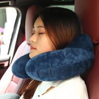 U型枕旅行枕充气颈椎枕 便携吹气枕飞机旅游三宝护颈枕u形护脖子