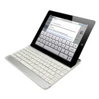 ikodoo爱酷多 Apple苹果平板电脑ipad2/3/4无线蓝牙键盘 铝镁合金底座 金属支架式 ipad4保护套