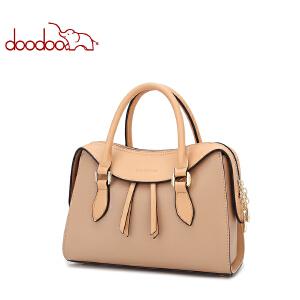 DOODOO包包女2018新款大容量秋冬新品女包时尚单肩包女士机车斜挎手提包D7455