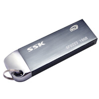 【大部分地区包邮】飚王(SSK)锐界 USB3.0 U盘(SFD223) 16G 挺炫的优盘 全金属