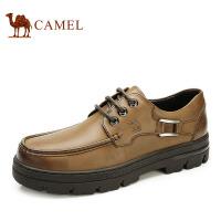 camel骆驼男鞋 男士皮鞋 低帮商务休闲潮鞋