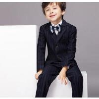 儿童西装五件套装男童礼服韩版花童小西装外套宝宝演出服户外修身