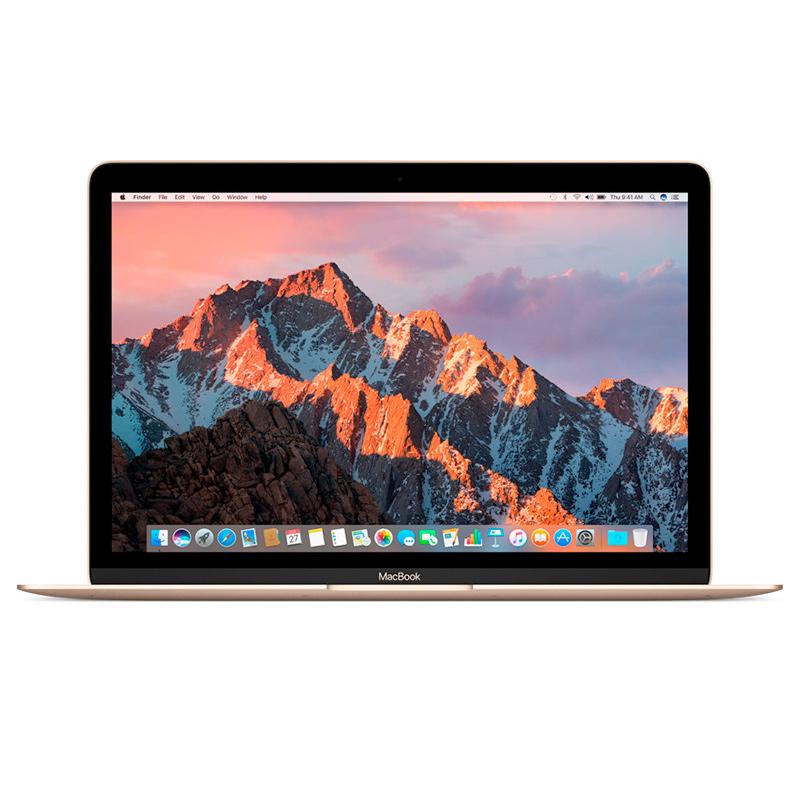 Apple MacBook 12英寸笔记本电脑 M3/8G/256G/金色 MNYK2CH/A可使用礼品卡支付 国行正品 全国联保