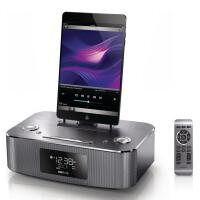 飞利浦dc295iphone6 plus底座音响苹果5S ipadmini2air闹钟音箱  正品