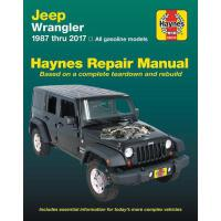 预订 Jeep Wrangler, 1987 Thru 2017 Haynes Repair Manual: All