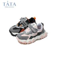 【券后价:148.9元】他她Tata童鞋女童老爹鞋潮2020秋季新款儿童休闲鞋小童中童运动鞋