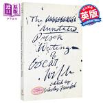【中商原版】王尔德狱中作品(注释版)英文原版 Annotated Prison Writings of Oscar W