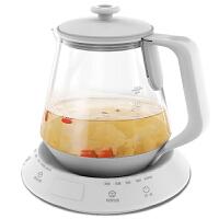 美的(Midea)�B生��MK-YS15Colour521家用1.5L多功能玻璃煮茶�� ��崴��仉�水��W