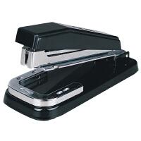 得力文具0414 12#订书机 可旋转 大号订书器 转头订书机