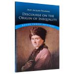 【中商原版】卢梭:论人类不平等的起源和基础 英文原版 哲学经典书籍 Discourse on Origin of In