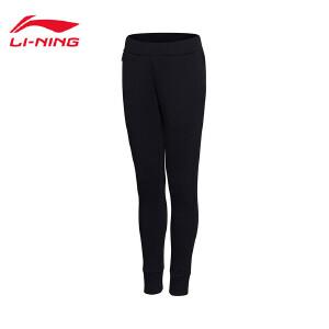 李宁卫裤女士运动生活系列长裤休闲裤子女装运动裤AKLM716