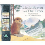 Little Beaver and the Echo 小海狸与回声(书+DVD) ISBN9781406324020