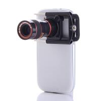 ikodoo爱酷多 三星 htc 通用8倍长焦望远镜 iphone4小米2 2S手机拍照配件 定焦镜头 iPhone6手机镜头 iPhone6s 手机望远镜 iPhone7手机镜头 iPhone7 手机望远镜 多功能通用手机望远镜