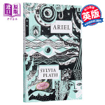 【中商原版】西尔维娅・普拉斯诗集:爱丽尔 英文原版 Ariel 精装