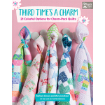 预订 Third Time's a Charm: 21 Colorful Options for Charm-Pack