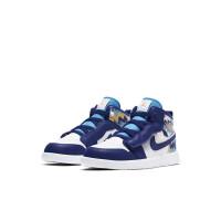 耐克儿童 Air Jordan 1 Mid AJ1 涂鸦中童宝宝篮球鞋AT4612-105