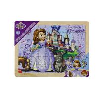 【当当自营】迪士尼拼图玩具 60片木质框式拼图-苏菲亚小公主36DF2486