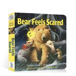 【顺丰速运】英文原版绘本 Days with Bear系列 Bear Feels Scared 小熊感到害怕 吴敏兰推