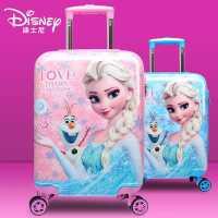 迪士尼�和�可坐拉�U箱�凵�公主16寸行李箱�f向�旅行箱18寸登�C箱
