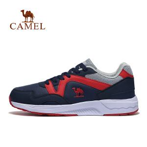 【每满200减100】camel骆驼运动男款跑鞋 缓震舒适低帮系带时尚跑步鞋