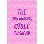预订 The Tiny Humans Stole My Sanity: Nanny Notebook Journal