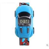 儿童电子手表男学生时尚个性创意小汽车潮流腕表玩具手表
