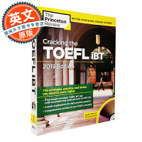 Cracking the TOEFL IBT with Audio CD 2019 Edition 英文原版 攻克新托