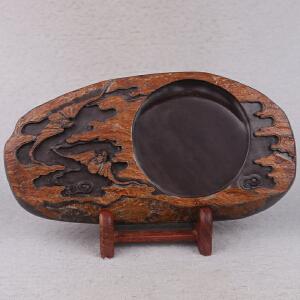 中国非物质文化遗产传承人群 钟景锐作品《福星高照》斧柯东