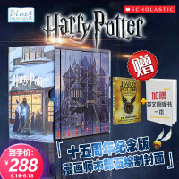 哈利波特全集 英文原版 15周年纪念套装 Harry Potter the Complete Series 美国版 学