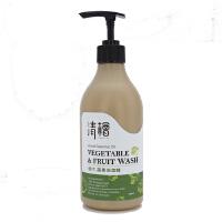 【清桧】桧木蔬果洗洁精(500ml/瓶)3瓶入
