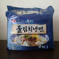 农心 韩国进口辣白菜冷面161g四连包