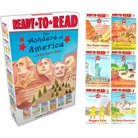 The Wonders of America Collector's Set 美国奇观 6册盒装 Ready to R