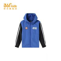 【1件45折到手价:152.55】361度童装男童梭织薄外套2021春季中大童休闲外套