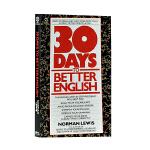 英文原版 30天提高英语技能 Thirty Days to Better English: Learn to Spea