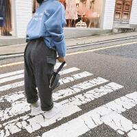 2018秋装新款儿童运动裤韩版女童休闲裤长裤SKZ0051