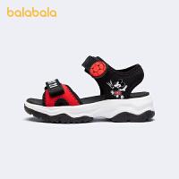 【2件4折价:108】【迪士尼IP款】巴拉巴拉官方童鞋男童小童运动凉鞋2021新款夏鞋子