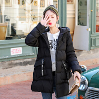 2019年冬季新款韩版宽松孕后期外套孕妇冬装棉衣棉袄