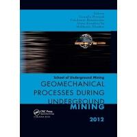 【预订】Geomechanical Processes during Underground Mining 978036