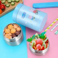 日本泰福高小猪佩奇幼儿保温桶小儿童饭盒闷烧杯闷烧罐焖烧杯便携0.5L