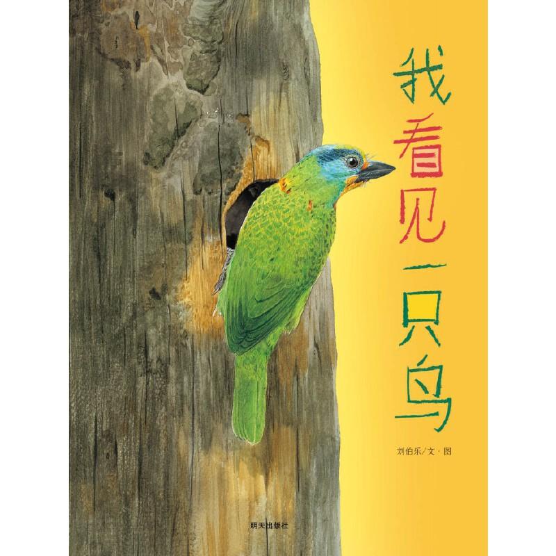 我看见一只鸟 2013年第三届丰子恺儿童图画书奖首奖作品,一本帮助孩子认识各种美丽鸟类的图画书,一本让孩子回归自然、爱上自然的图画书。