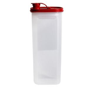 特百惠水壶2l纤巧壶豆浆壶自制酵素果醋壶冷水壶凉水壶塑料果汁壶经典红