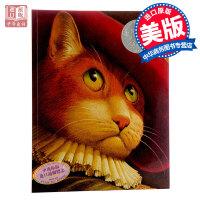 【中商原版】穿靴子的� 英文原版 Puss in Boots �和��L本 1991年�P迪克�y�� 少��D��故事��