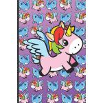 预订 Pink Unicorns and Blue Narwhals Notebook: Note Book and