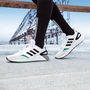adidas neo阿迪休闲2019男女网面透气轻便舒适低帮跑步休闲鞋G26347