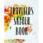 预订 Travelers Sketch Book: Blank Sketch Notebook Journal For