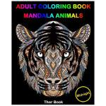 预订 Adult Coloring Books: Mandala Animal Designs Midnight Ed