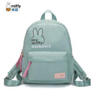 米菲双肩包女韩版2017新款女士尼龙背包夏帆布书包休闲包包百搭潮