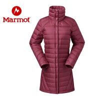 Marmot/土拨鼠女士防水透气防风保暖700蓬休闲时尚羽绒服